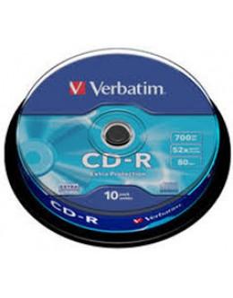 CD VERBATIM 10/SET