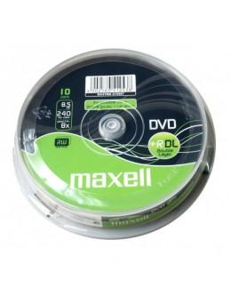 DVD MAXELL 10/SET