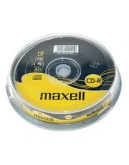 CD MAXELL 10/SET
