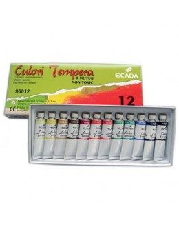 CULORI TEMPERA ECADA 12/SET