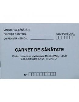 CARNET SANATATE